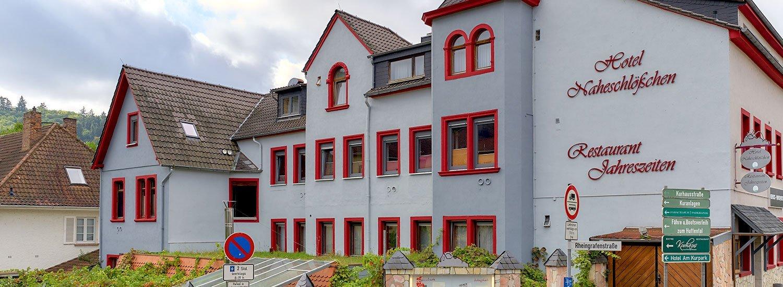 Hotel Naheschlößchen & Restaurant »Jahreszeiten« in Bad Münster am Stein