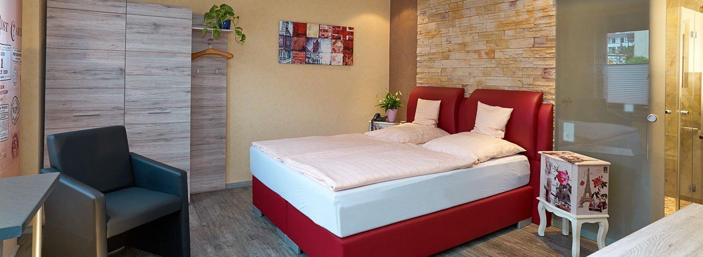 Hotel Naheschlößchen - Schlafen im liebevoll gestalteten Komfortzimmer