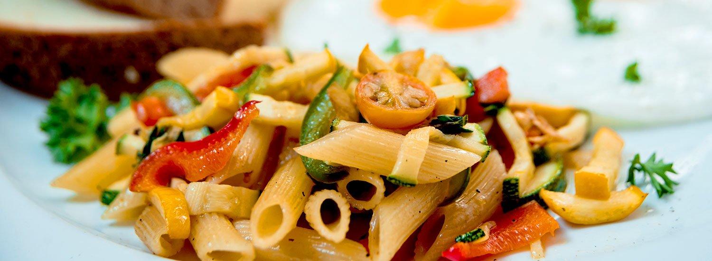 Hausgemachte Nudeln genießen im Restaurant »Jahreszeiten«
