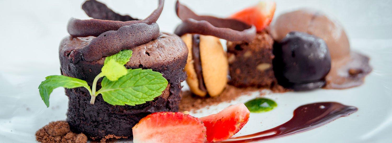 Süße Leckereien genießen im Restaurant »Jahreszeiten«