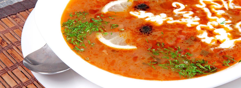 Herzhafte Suppen genießen im Restaurant »Jahreszeiten«