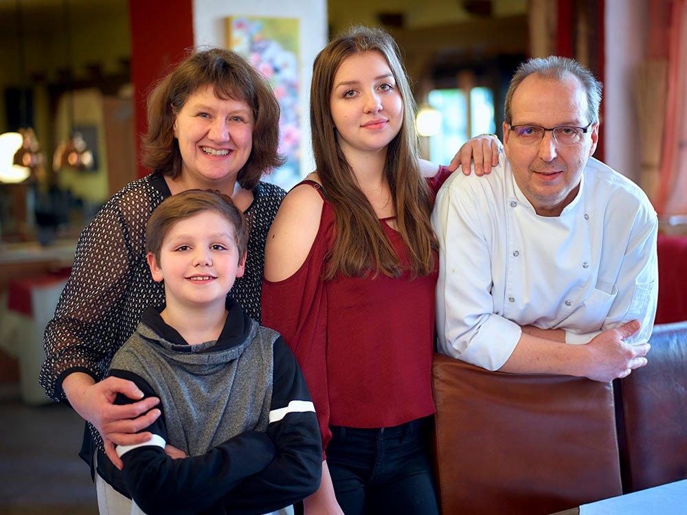 Willkommen im Restaurant Jahreszeiten bei Familie Theobald
