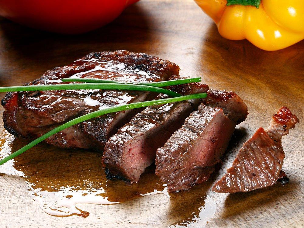 Die Spezialität im Restaurant Jahreszeiten: Steak-Karte – Sous-vide